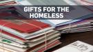 Woman collects Christmas cards for the homeless