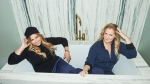 Co-founders of Le Cloud, Leesa Evans & Amy Schumer (Saks OFF 5TH)