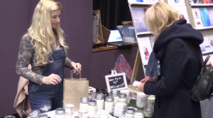 Handmade Market in Guelph had over 50 vendors to choose from.