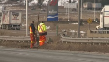 Emergency services are on the scene of a deadly crash that shut down Nova Scotia's Highway 104 on Sunday morning..