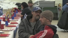 Holiday cheer for the homeless