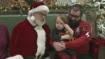 Sensory Santa program for kids with autism