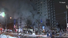 Massive explosion at restaurant in Japan