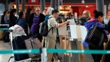 Ottawa airport passengers