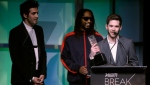 Colin Kroll, right, co-founded popular gaming app HQ Trivia and the now defunct video platform Vine. (Isaac Brekken - GETTY IMAGES NORTH AMERICA/AFP/File)