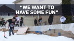 Family's outdoor hockey rink iced after complaint
