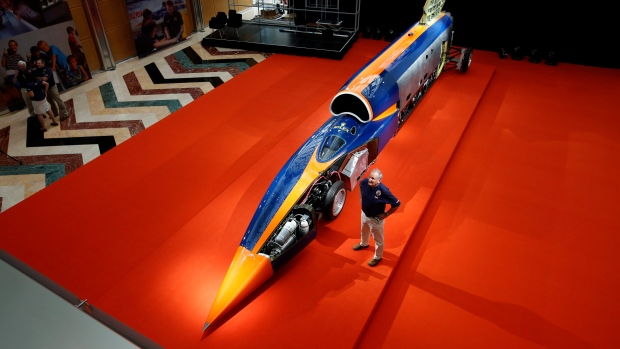 Bloodhound supersonic vehicle project rises once more