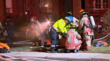 Man revived by firefighters