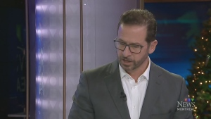 Yves-Francois Blanchet in the CTV Montreal studio in December 2018