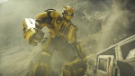 """This image released by Paramount Pictures shows Bumblebee in a scene from """"Bumblebee."""" (Paramount Pictures via AP)"""