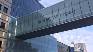 The incident happened on William Avenue outside Health Sciences Centre Sunday at around 2 a.m. (File image: Josh Crabb/CTV News).