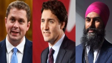 How did Canada's party leaders fare in 2018?