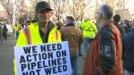 calgary pipeline rally