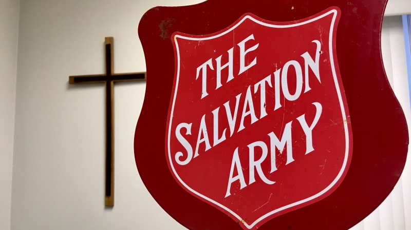 The Salvation Army in Barrie, Ont. on Monday, Dec. 17, 2018 (CTV News)