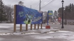 Wasaga Beach, Ont., as seen downtown on Monday, Dec. 17, 2018 (CTV News/Roger Klein)