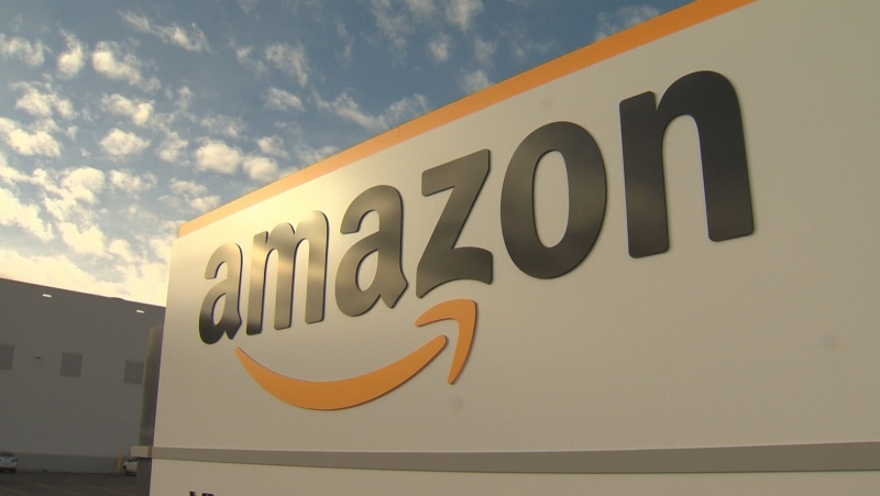 Hundreds of part-time positions are now available at the new Amazon warehouse set to open in Balzac, Alta. in a few months. (File)