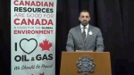 Councillor George Chahal - pro-pipeline video