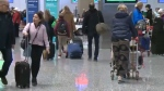 Calgary International Airport passengers