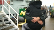 Navy vessels return home in time for Christmas