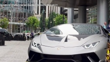 Paying it forward with Lamborghini rides