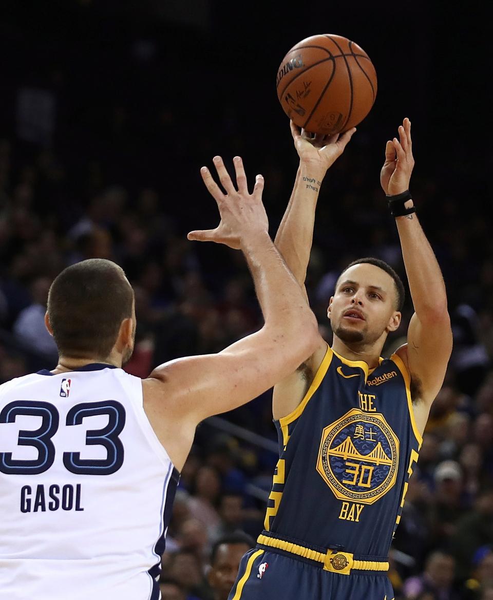 7643b25f966d Golden State Warriors  Stephen Curry