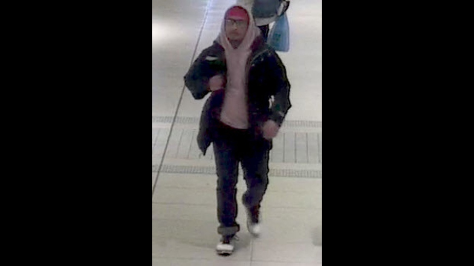 A man wanted in connection with a sexual assault investigation at Fairview Mall on Dec. 17, 2018. (Toronto police handout)