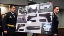Illegal firearms, trafficking