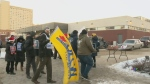 Winnipeg protestors rally for right to strike