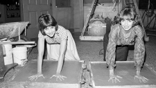 Cindy Williams and Penny Marshall