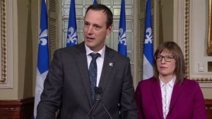 Quebec Education Minister Jean-Francois Roberge