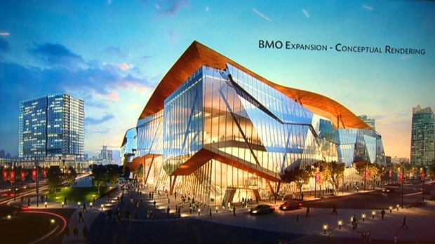 BMO Centre expansion