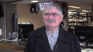 """They're going to call me when they're in town - bring the parcels in,"" Bill Bonner said of the Boudreaus, who offered him a drive at Mic Mac Mall when he couldn't find his car in the parking lot."