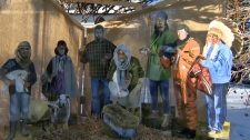 Red Deer Lake United Church - Nativity