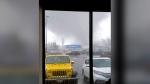 Rare tornado slams into Washington community