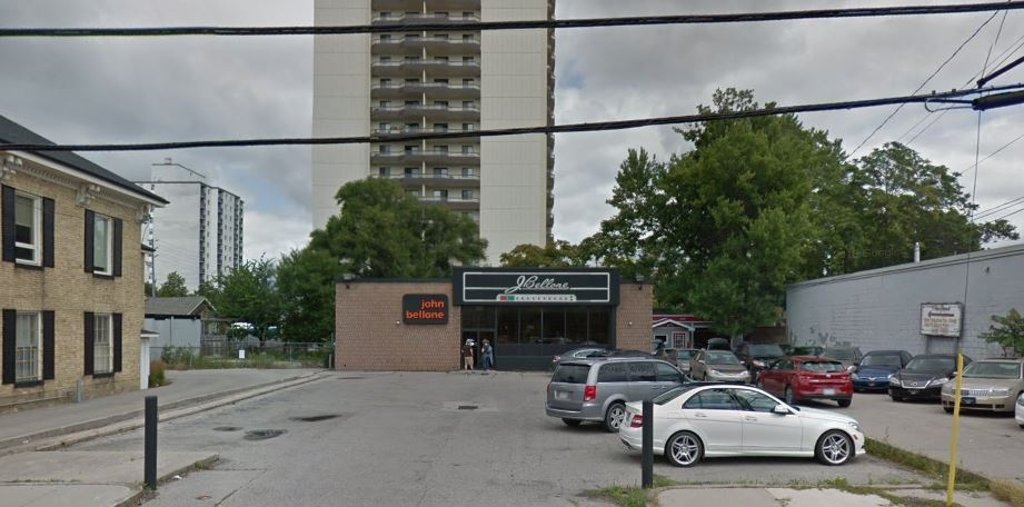 446 York Street, the proposed location for a supervised consumption facility in London, Ont., is seen in this file photo.