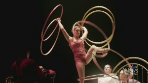 CTV Montreal: Cirque's Corteo
