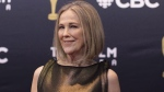 Catherine O'Hara arrives on the red carpet at the Canadian Screen Awards in Toronto on Sunday, March 11, 2018. THE CANADIAN PRESS/Chris Young