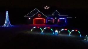 Dave Baker's Christmas lights