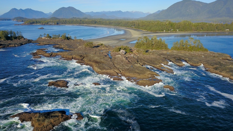 Dec. 19, 2018: Chesterman Beach in Tofino. (Courtesy Michael Hack)