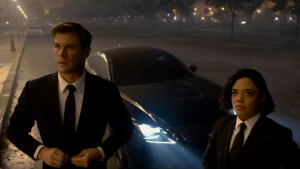 Actor Chris Hemsworth plays Agent H alongside Tessa Thompin 'Men In Black: International' (Sony Pictures Entertainment)