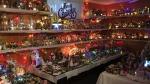 The spirit of Christmas has taken over Winnipeg woman Hazel Bowker's basement. (Photos: Jamie Dowsett/CTV News).