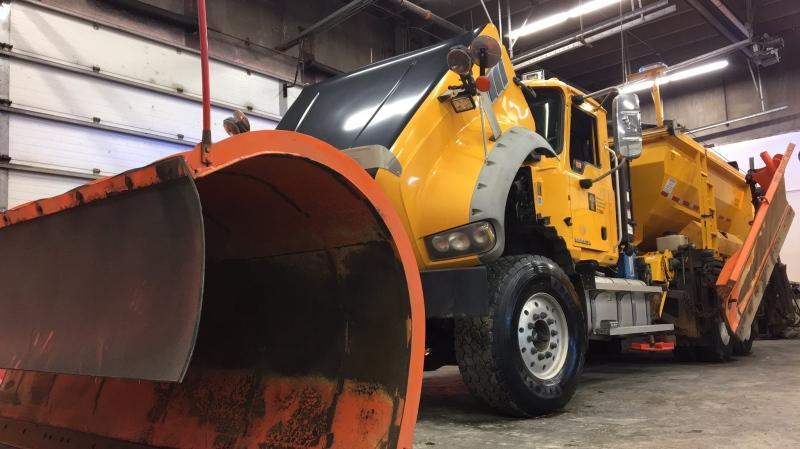 A snow plow is shown in this file photo (Gareth Dillistone / CTV Regina)