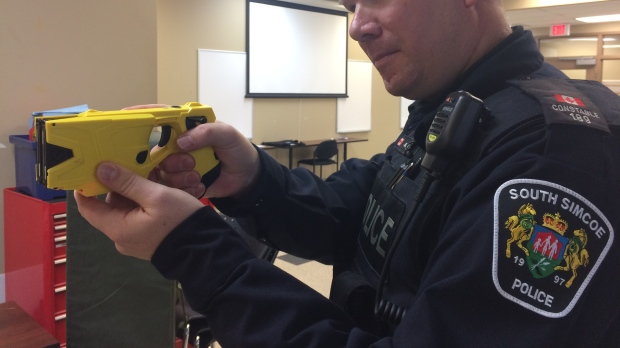 South Simcoe Police taser