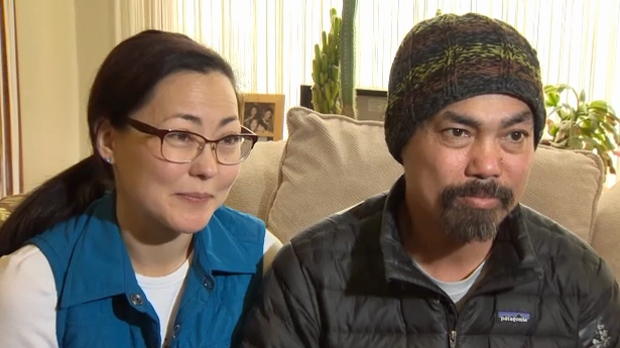 Karen and Kheang Ung say they've been overwhelmed by the support their family has received as they face Kheang's lung cancer that has spread to his brain