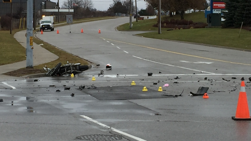 Rider seriously hurt in motorcycle crash | CTV News Kitchener