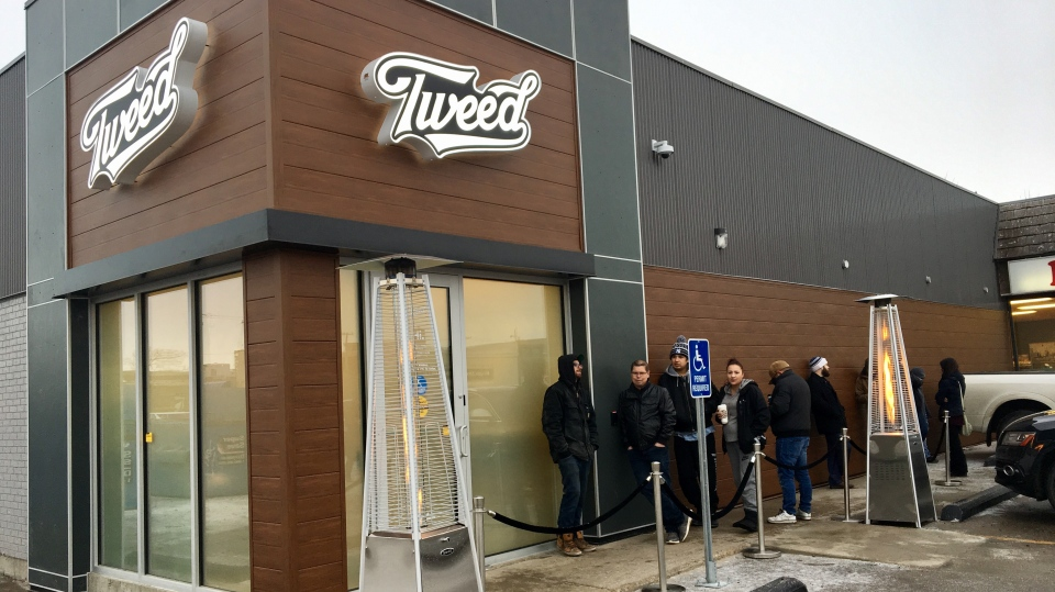 Tweed is the third cannabis retailer to open in Regina (Gareth Dillistone / CTV Regina)