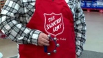 The Salvation Army is about $53,000 below its target for the season.