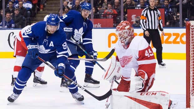 Maple Leafs recall Trevor Moore from American Hockey League on emergency basis