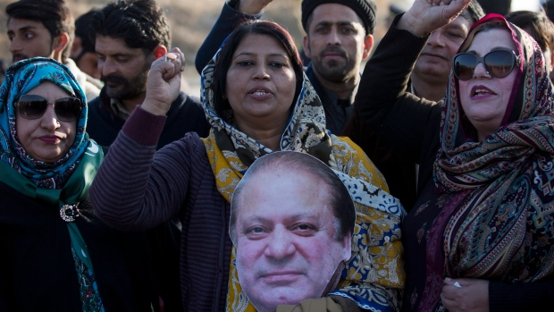 Pakistan's former PM Nawaz Sharif sentenced to 7 years for corruption