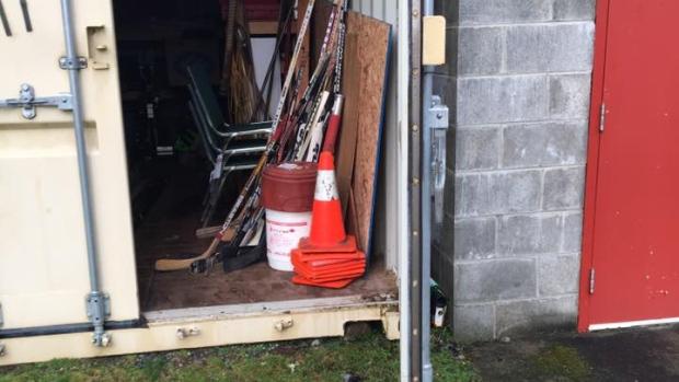 storage locker dashwood